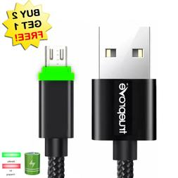 ✔1/3/6/10 Feet USB FAST Rapid Charger Charging Cord LED Ca