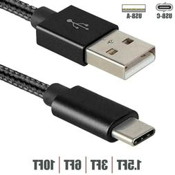 1.5 3 6 10FT USB-C 2.0 Type-C to USB-A Sync Data Fast Charge