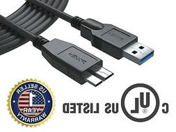 12 Ft USB 3.0 Cable for Samsung Galaxy Note Tab Pro 12.2 SM-