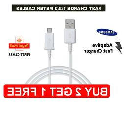 For Samsung 1M 2M 3M Fast Charger Micro USB Data Cable Lead