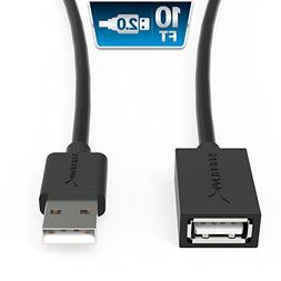 Sabrent 22AWG USB 2.0 Extension Cable - A-Male to A-Female