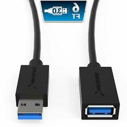 Sabrent 22AWG USB 3.0 Extension Cable - A-Male to A-Female