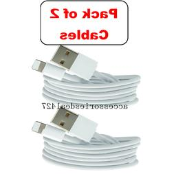 2Pack 3FT USB Cable For Original Apple iPhone 5s 6s 7 8 Plus