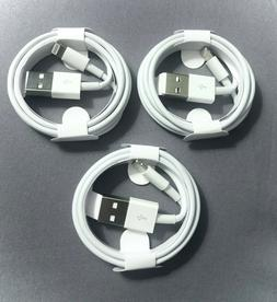 3x OEM Original 1M Lightning USB Charger Cable For Apple iPh