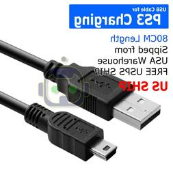 5 Pin Mini USB Cable Data Sync Charging Cord for Camera, Nuv