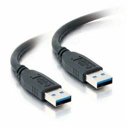 C2G 54170 USB Cable - USB 3.0 A to A Cable M/M, Black