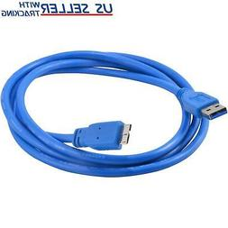 5FT Micro USB 3.0 Cable for Western Digital WD My Book Exter