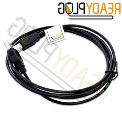 6 ft ReadyPlug USB Cable for HP Envy 4500 E-All-in-One Print