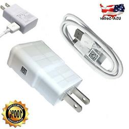 Samsung Galaxy S7 Edge S6 Note 5 Fast Rapid Wall Charger USB