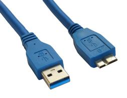 Superspeed USB 3.0 Type A Male to Micro B Male 24/28AWG Cabl