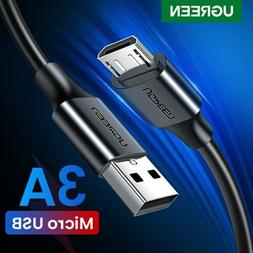 UGREEN A Male To Micro USB 2.0 Data FAST Charging Cable For