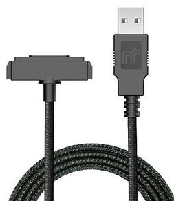 Black Rugged USB Charger/Sync Cable for Sonim XP5 XP6 XP7 XP