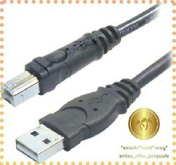 Cable USB Cable for HP OfficeJet 3830 All in One Printer K7V