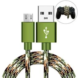 CAMO Micro USB FAST Charger Cable PlayStation 4 slim PS4 Dua