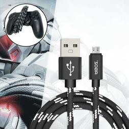 Durable Micro USB Cable FAST Charger Cord for Sony Playstati