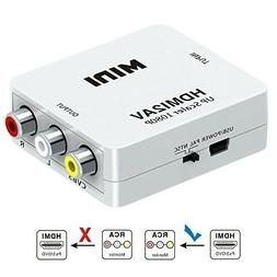 HDMI To RCA/HDMI To AV Video Audio Converter USB Charge Cabl