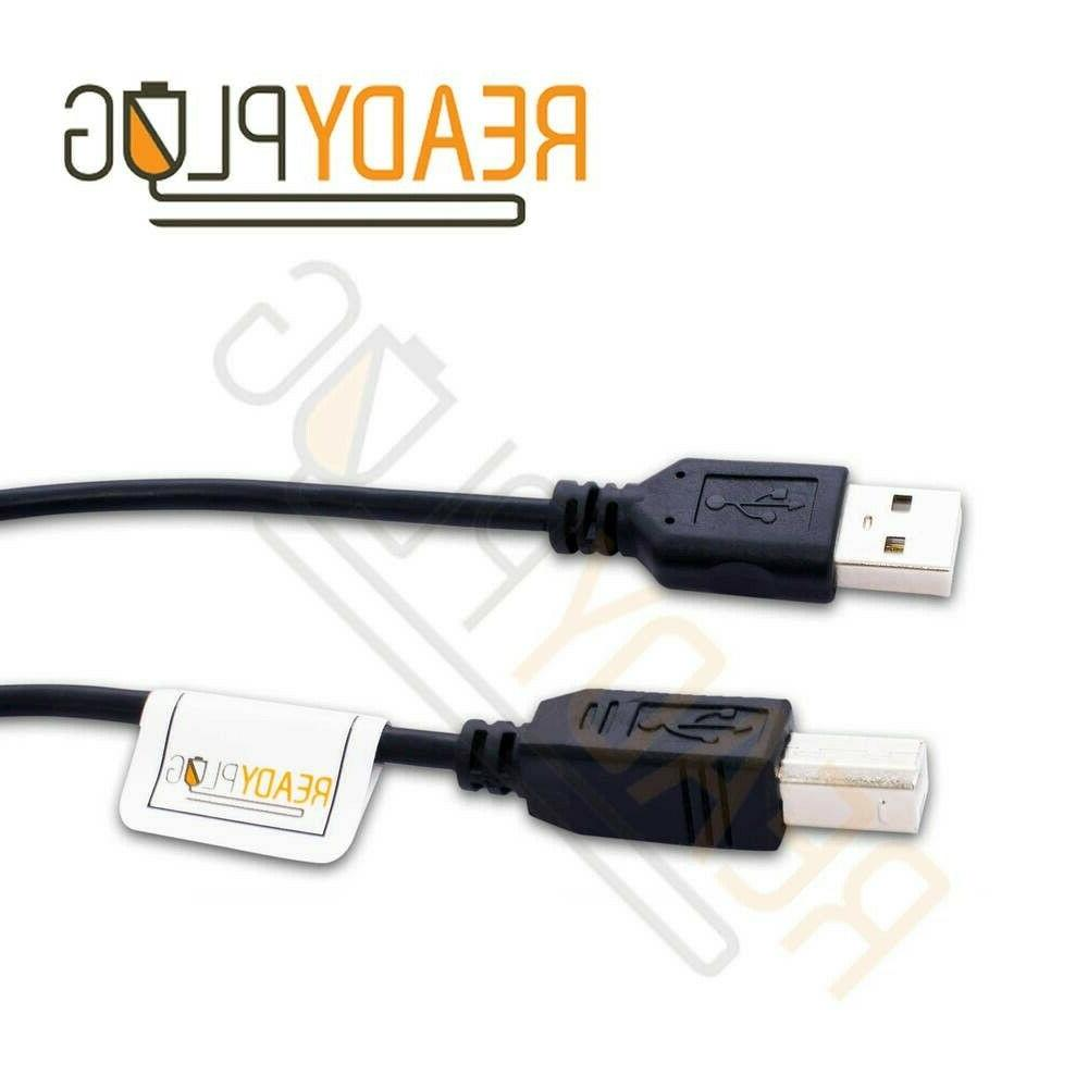 15 ft ReadyPlug USB Cable for HP Envy 4500 E-All-in-One Prin