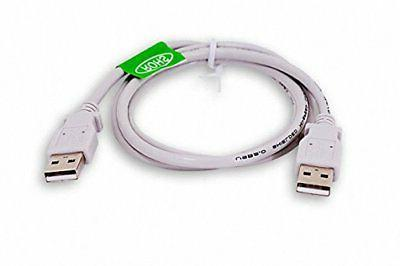 DTOL 3 Feet USB 2.0 Male To Cable Cables Hubs Adapters Compu