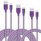 Fasgear Micro USB - Premium Charging Cables [Braided Nylo