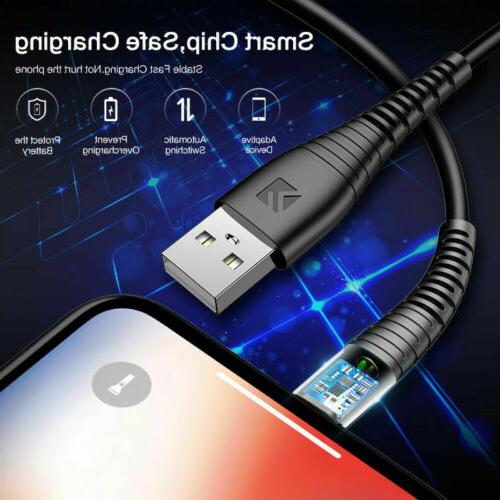 3 USB Charging For iPhone 5 S 6 8 X Plus