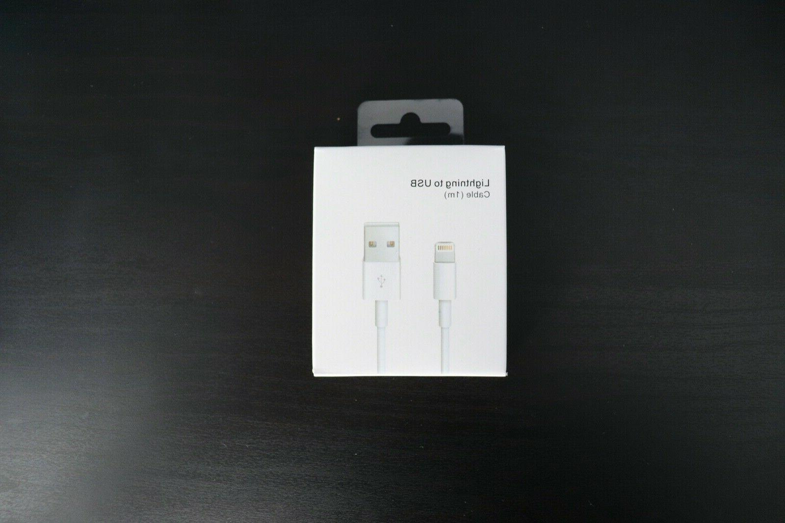 3 Original Charger For Apple iPhone Lightning Cable OEM 7 X Genuine