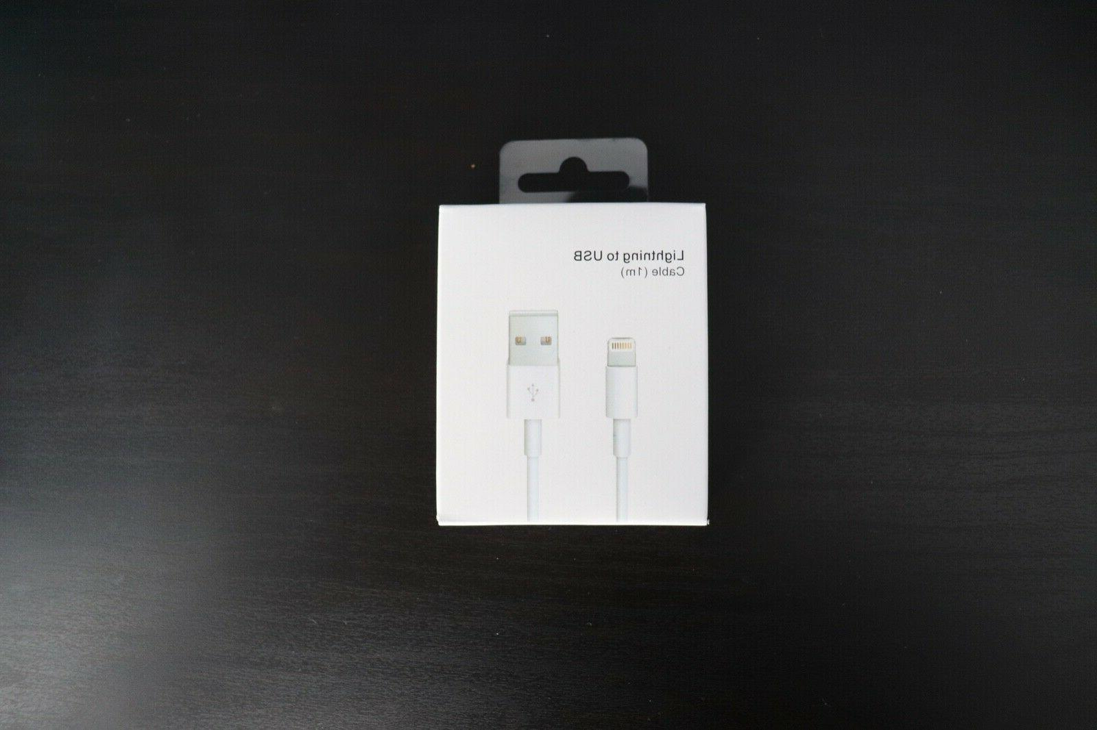 3 X For iPhone USB Lightning X 8 6 5 Genuine