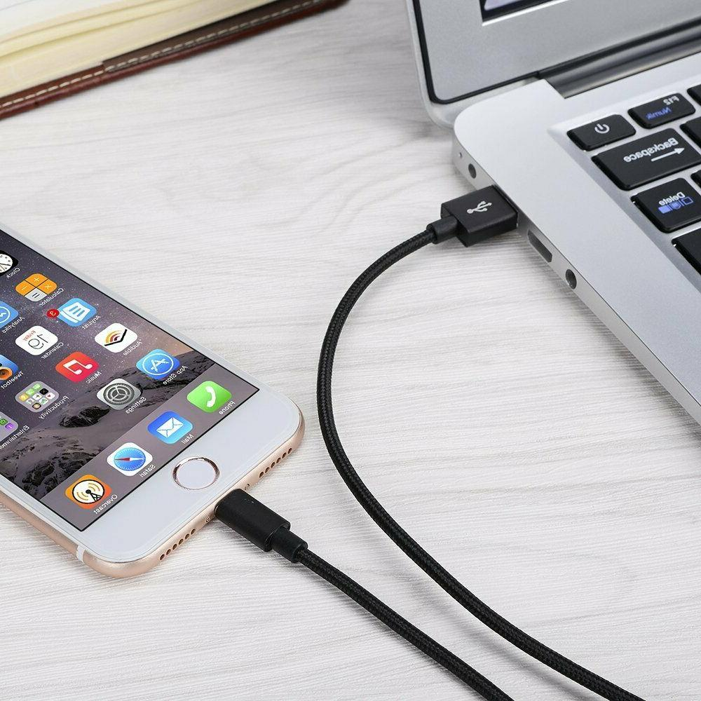 4-Pack USB Apple iPhone 6 7 Fast Charger