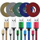 LOT 10 FT USB-C Type-C Data Sync Charger Charging Cable Cord