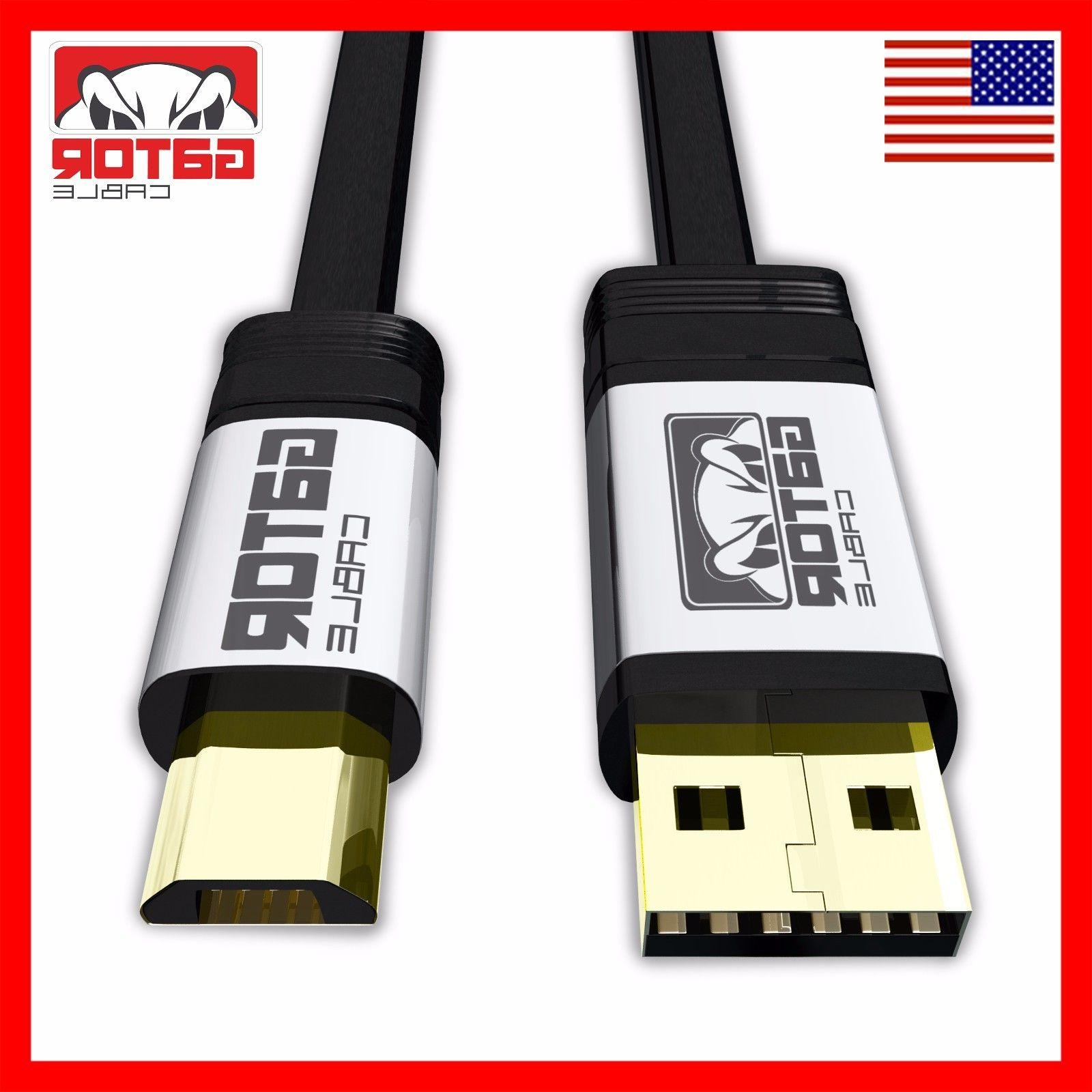 Micro USB Fast Charger Cable 2.0 Data for S6 HTC LG