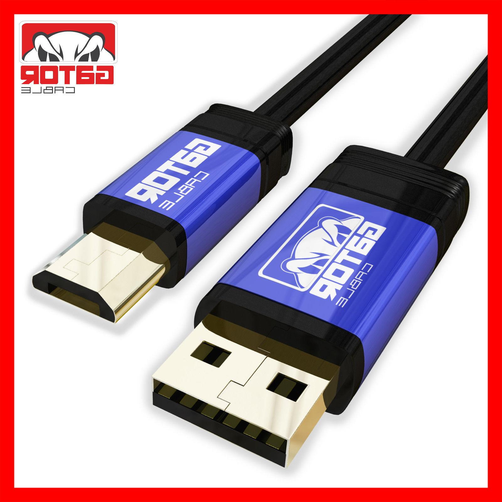 Micro USB Charger Cable Sync for S6 LG