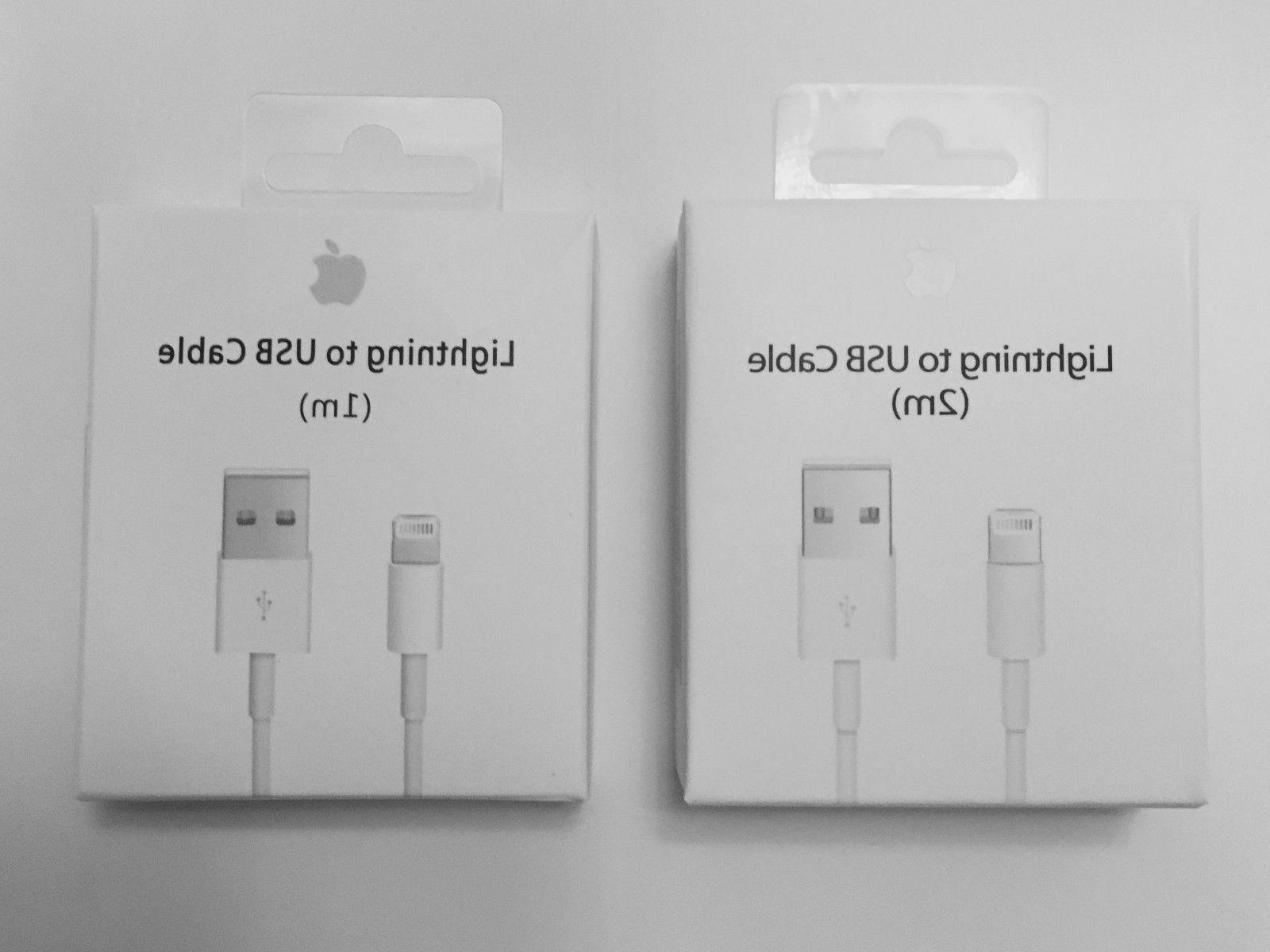 New Apple Lightning Cable USB Cable Charger iPhone X 8 7 6S