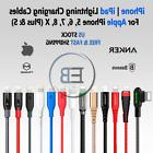 Lightning Cable Charger USB Anker 3/6/10 FT For iPhone 5 6s