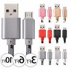 3/6/10ft Micro USB Data Sync Charger Charging Cable Cord for