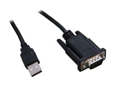 Sabrent USB 2.0 to Serial  DB-9 RS-232 Adapter Cable 6ft Cab