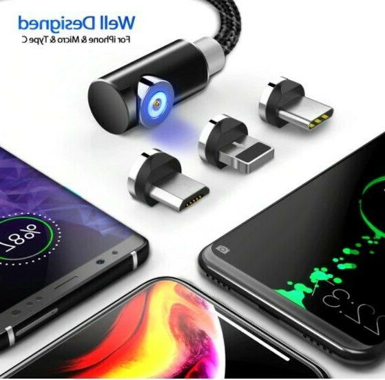 fast charging magnetic cable micro usb type