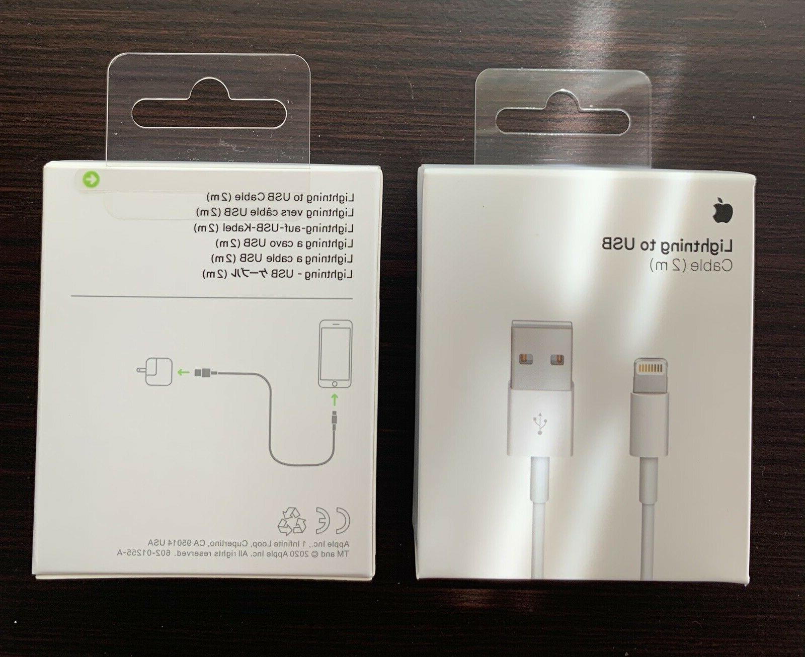 Original iPhone 6 Lightning Cable Charger 2m - 6FT