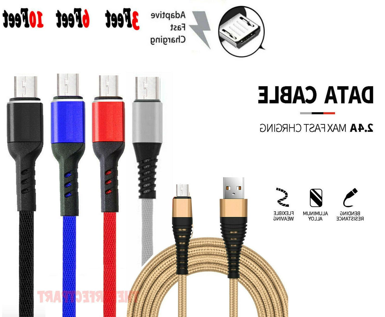 heavy duty micro usb fast charger data