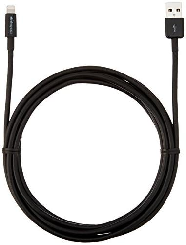 AmazonBasics to USB A Certified Charger Black,