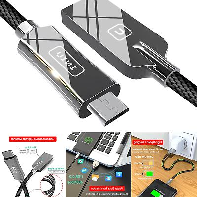INIU Micro USB Cable Android Zinc Alloy 3.3ft