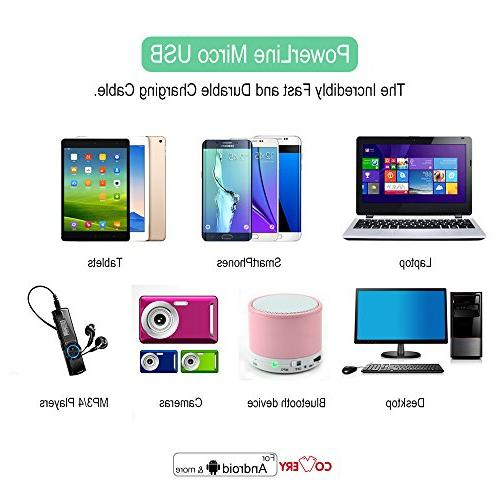 Micro USB Covery 6 Pack USB Android Devices, Samsung Motorola