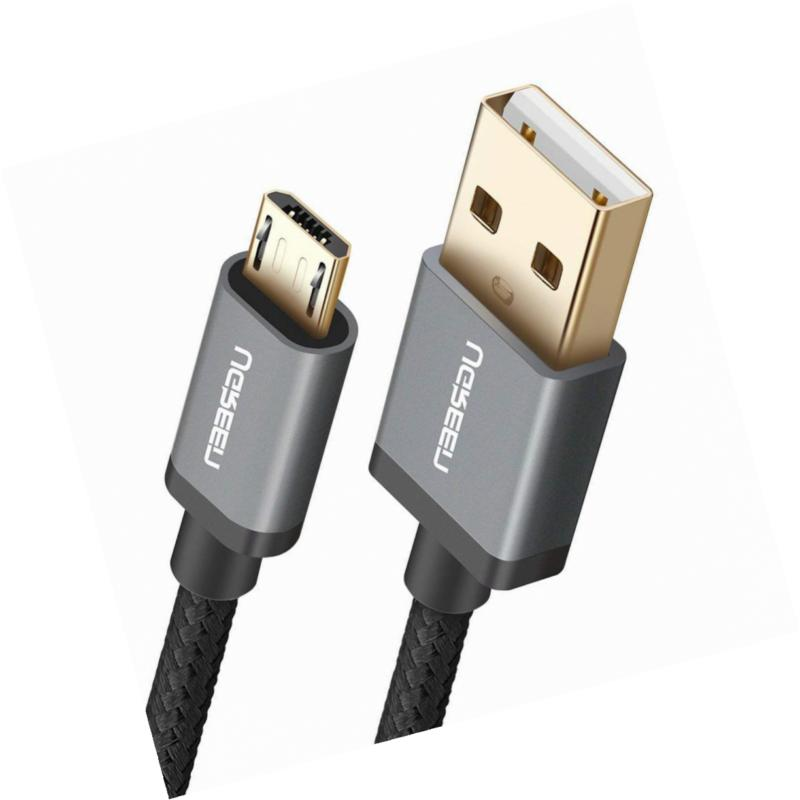 UGREEN Micro USB Cable Nylon Braided Fast Quick Charger to 2