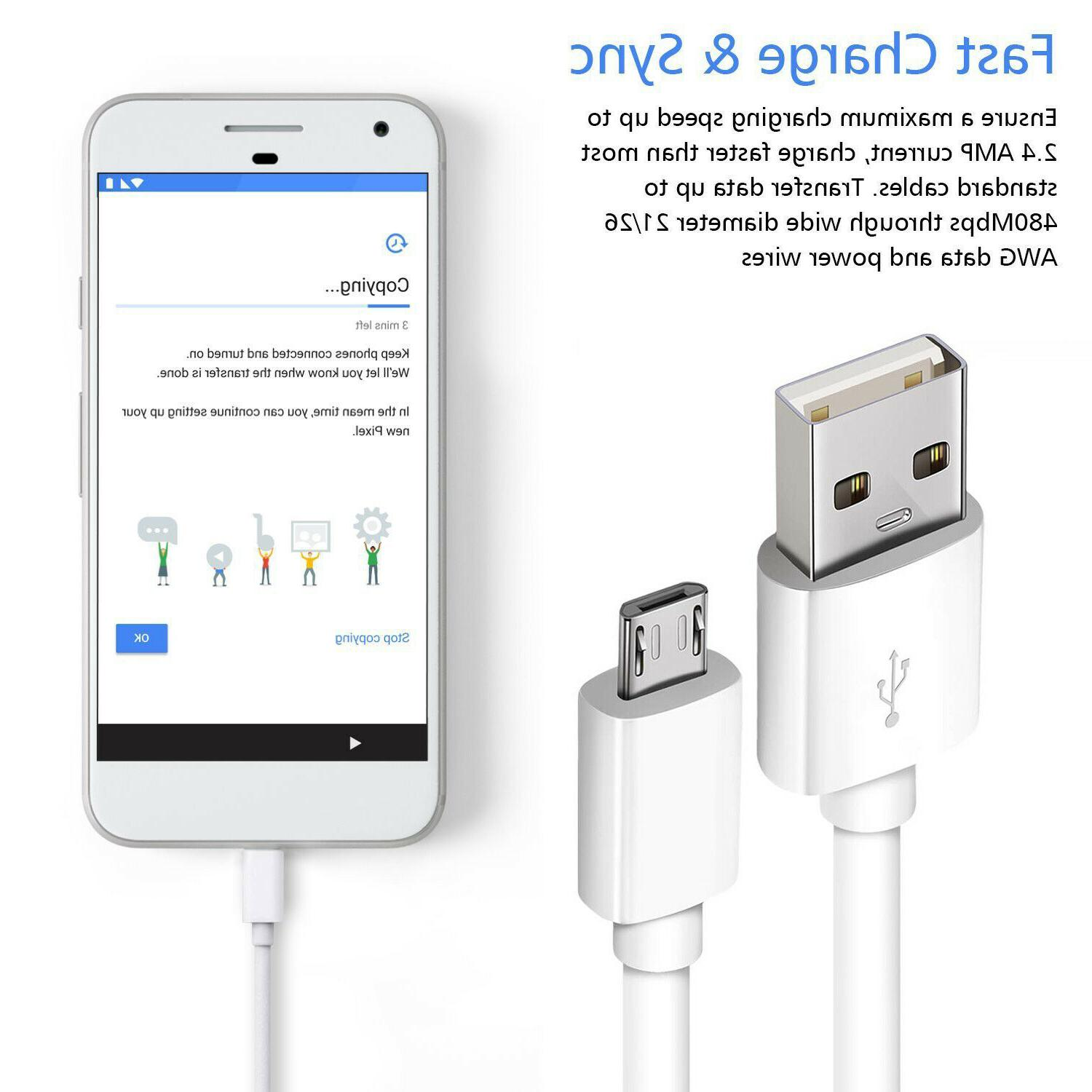 2-Pack USB For Android LG