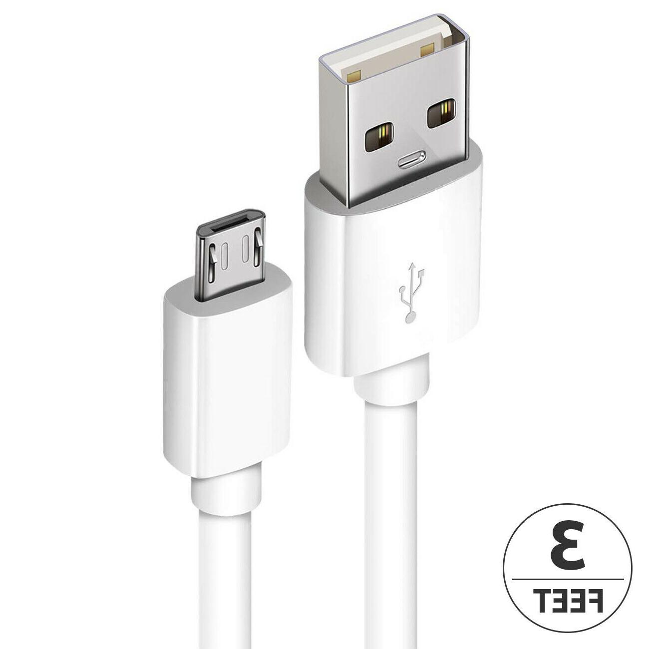 2-Pack Micro USB Fast For Samsung Android LG