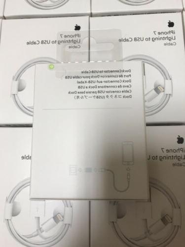 Original Charger For iPhone Lightning Cable 8 6 5 Genuine