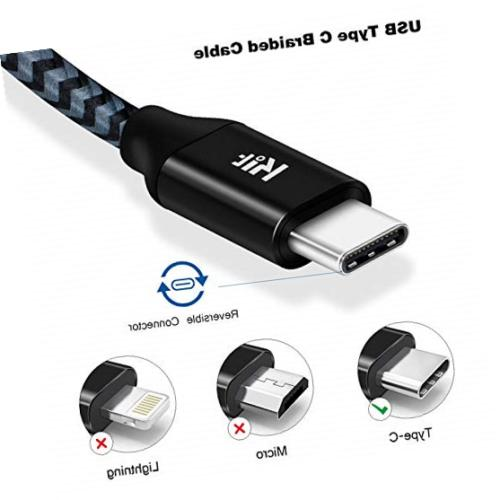 short usb c cable 1ft 5pack usb