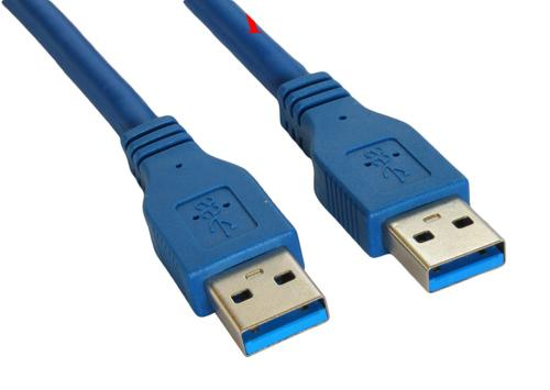 Superspeed USB 3.0 Type A Male to Type A Male 24/28AWG Cable