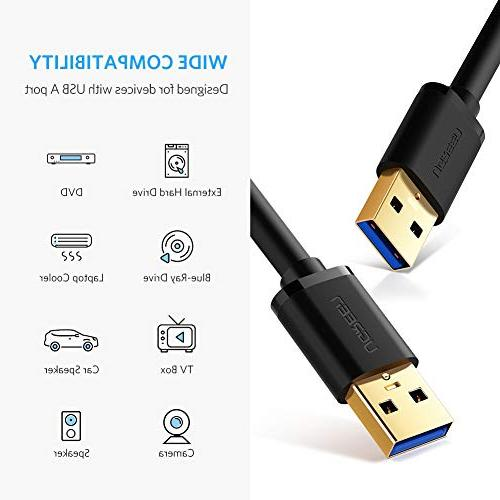 UGREEN USB to Type A to Cable Cord for Transfer Printers, Modems, Cameras