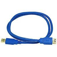 3ft USB 3.0 A Male to A Female Extension 28/24AWG Cable