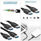 Rankie USB 3.0 Cable Type A to Type A 2 Pack 6 Feet Gadgets