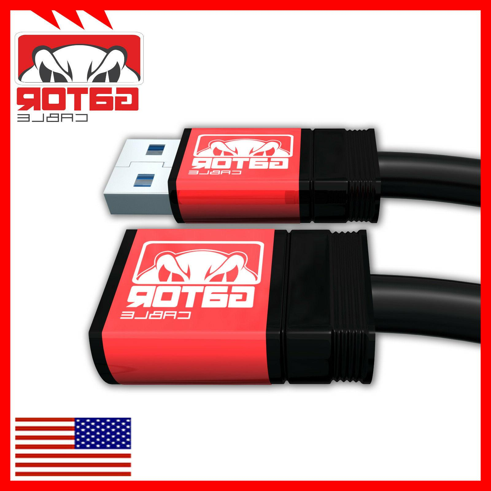 USB 3.0 Super Speed Male A Female Extension Cord